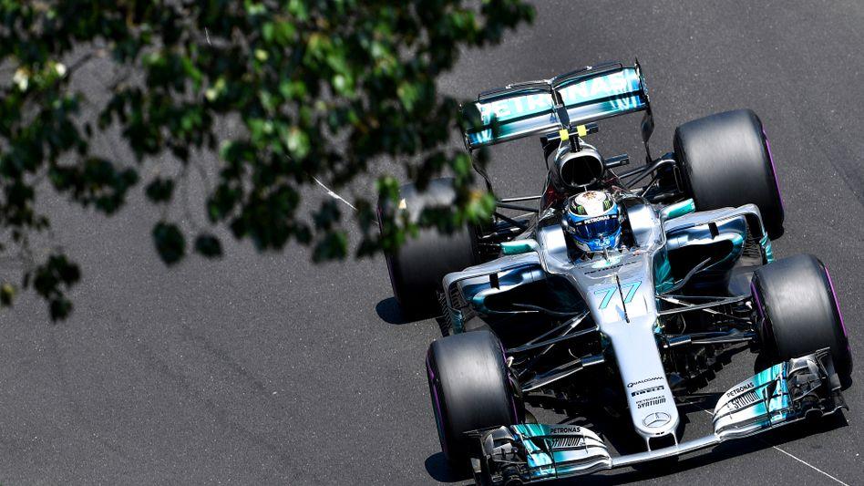 Formel-1-Rennwagen von Mercedes: Möglich ist, dass die Formel 1 ab dem kommenden Jahr nur noch im Pay-TV läuft
