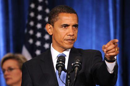 """Barack Obama: Nicht der """"President elect"""", sondern der amtierende Präsident George W. Bush wird die G19 empfangen"""