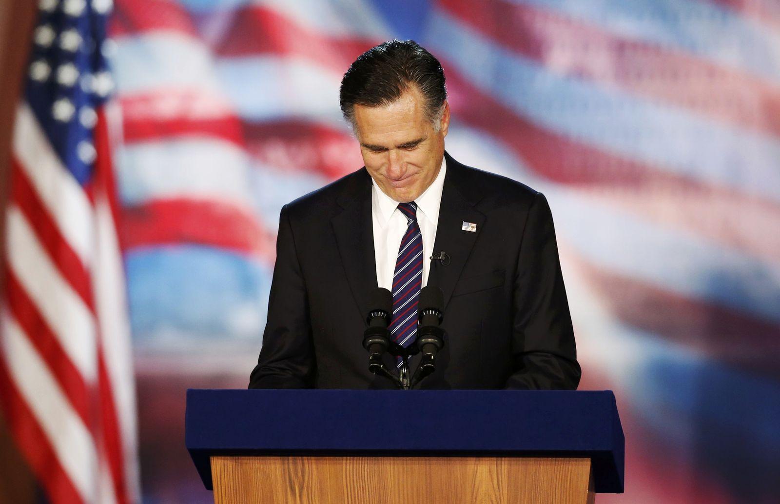 Romney für Kommentar