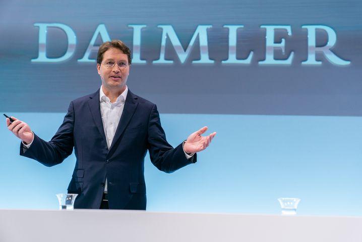"""""""Daimler benötigt derzeit keine Staatshilfe"""": Konzernchef Ola Kaellenius will"""