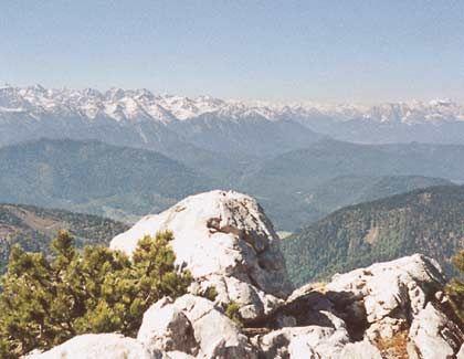 Alpenhauptkamm: Laufen, bis die Berge glühen - zu Fuß von München nach Venedig