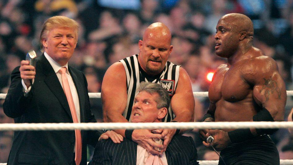 Präsident, Wrestler, Friseur: Donald Trump erweist sich seit Jahren als Multitalent.
