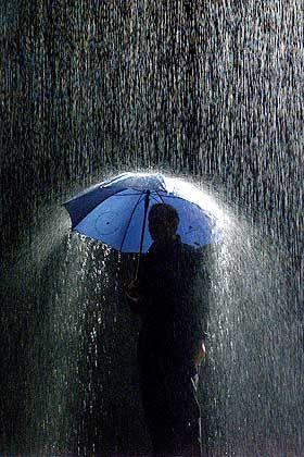 Sonnenschein und Regen: Ein Sinkender Ölpreis dämmte die Dax-Verluste ein, konnte sie aber nicht vollständig wettmachen