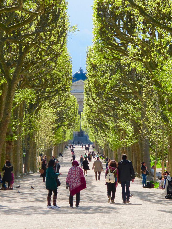 Auszeit vom Großstadttrubel: Der Jardin des Plantes liegt im Herzen von Paris.