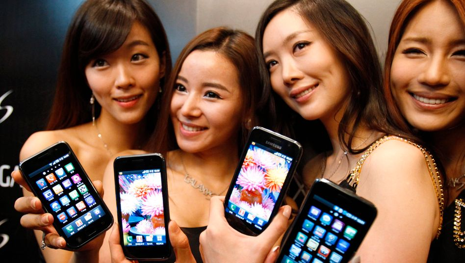 Models mit Samsung-Smartphones