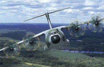Im Sinkflug: Das Projekt A400M ist drei Jahre im Verzug - und weiterhin unsicher