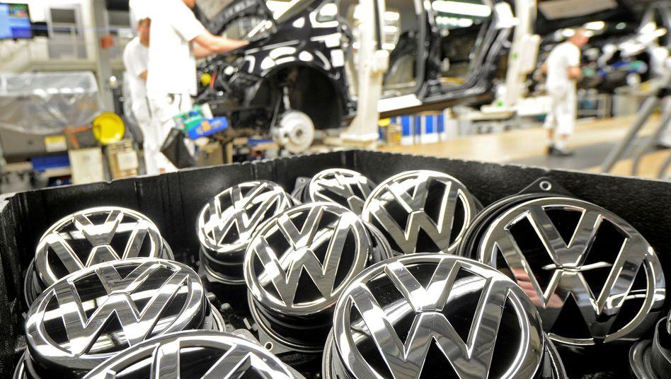 Produktion des VW Golf in Wolfsburg