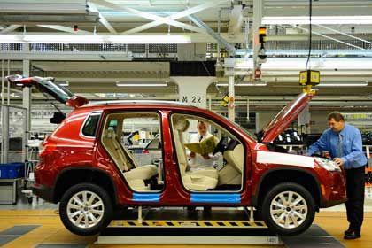 Produktion in Wolfsburg: VW steigert im September seinen Absatz