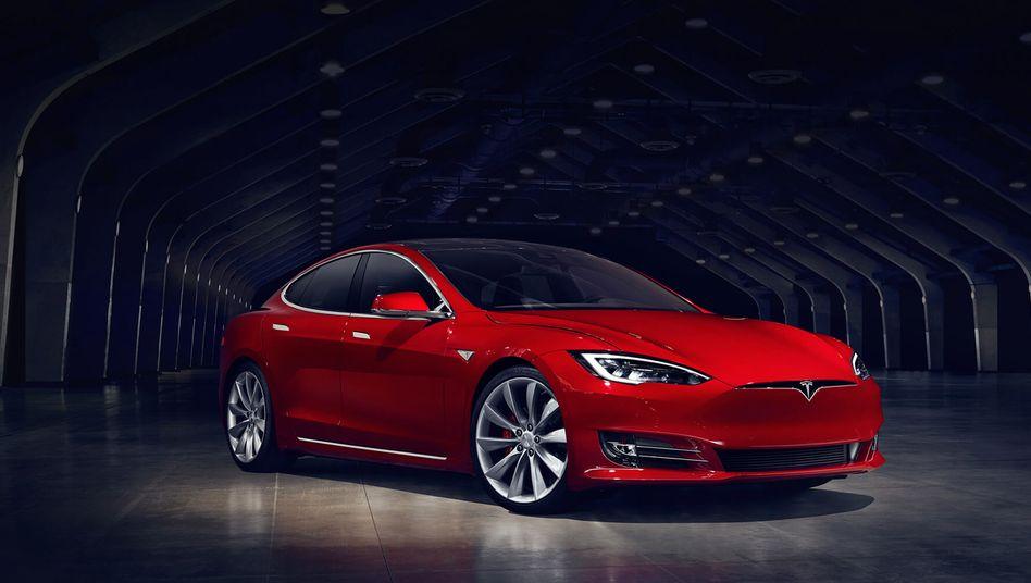 Keine Förderung mehr: Tesla Model S
