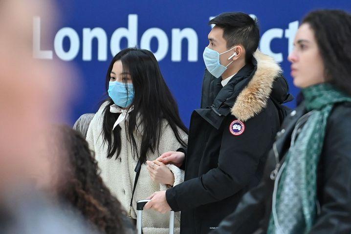 Londoner U-Bahn: Die britische Regierung geht mit großer Wahrscheinlichkeit davon aus, dass das Land von einer Coronavirus-Epidemie besonders stark betroffen sein werde.