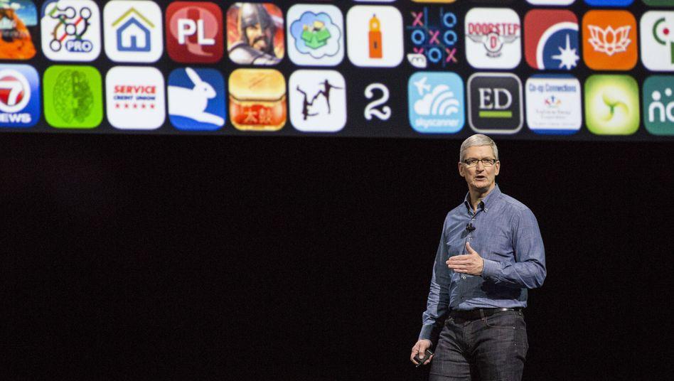 Apple legt am Dienstag Zahlen vor: Der Umsatz bei iPhone, Mac und iPad dürfte zweistellig gefallen sein, und auch China hilft nicht mehr. Kann es einen Börsen-Champion ohne Wachstum geben?