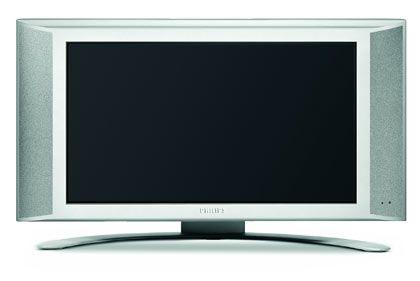 """Flach, schlank und breit - das LCD-Modell von Philips mit """"Virtual Dolby""""-Raumklangfunktion misst 23 Zoll (58 cm) Bildschirmdiagonale und kann entweder mithilfe eines Standfußes aufgestellt oder an die Wand gehängt werden. Preis - etwa 2400 Euro: Philips 230W5"""