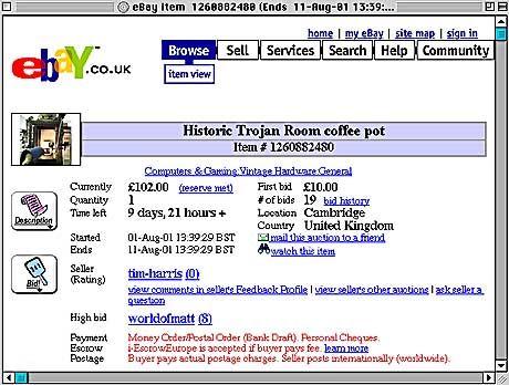 Japaner müssen nun anderswo kaufen und verkaufen: EBay, hier die Seite der britischen Tochter, hat keine Lust mehr auf Tokio & Co.