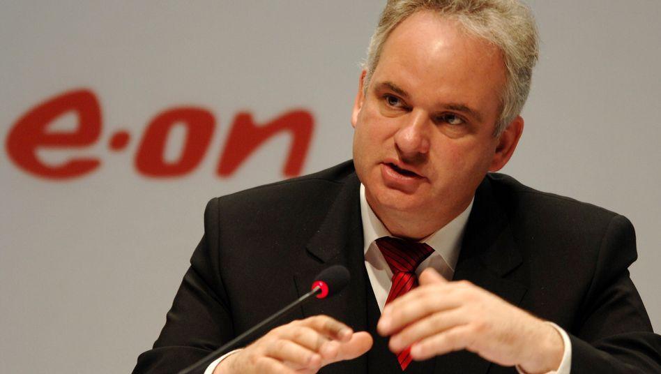 Im Streit um die geplante Brennelementesteuer legt Eon-Chef Johannes Teyssen nach