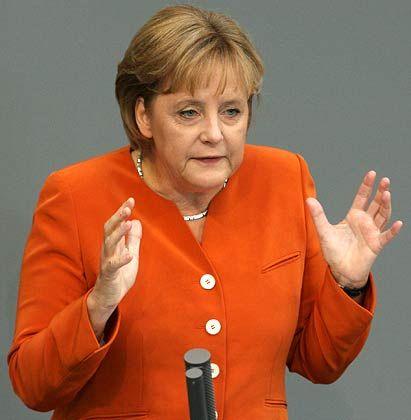 Kanzlerin Merkel: Kommt nun die Rolle rückwärts?