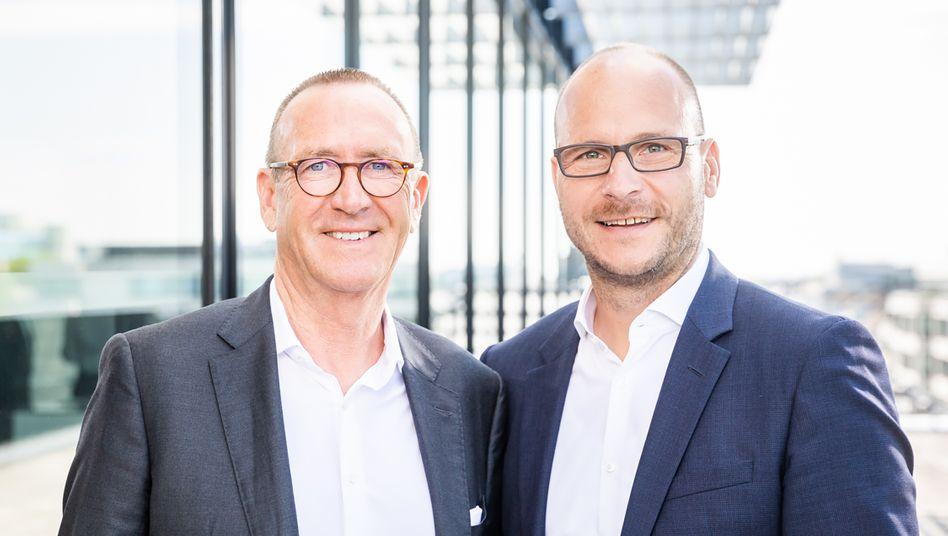 Gerd Kerkhoff (links und Frank Wiethoff führen die Kerkhoff Group künftig gemeinsam
