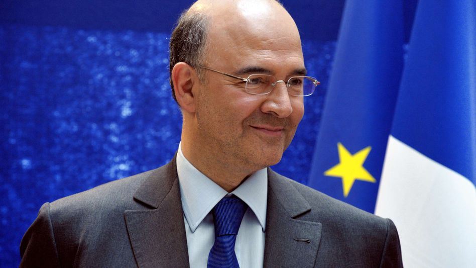 Pierre Moscovici: Der französische Politiker ruft EZB-Chef Mario Draghi nun zum Handeln auf