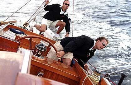 Aus dem Ruder gelaufen: Auf seinem Schiff war Falk stets Kapitän