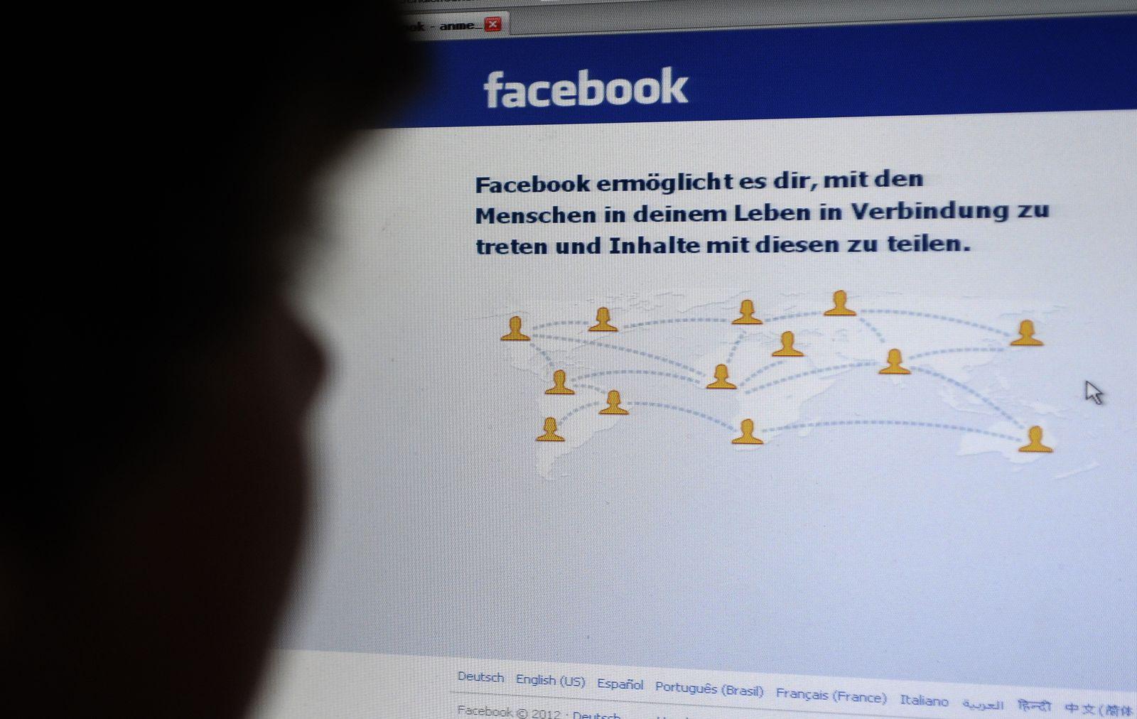 NICHT VERWENDEN Facebook