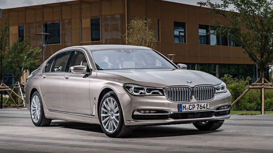 BMW 7er: Betroffen sind Autos, die zwischen April 2015 und September 2016 gebaut wurden
