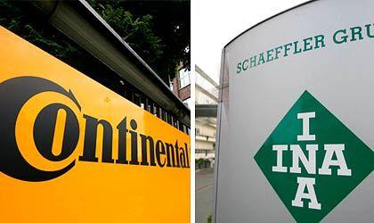In großen Schwierigkeiten: Im Auftrag des Bundes sollen sich jetzt Wirtschaftsprüfer einen Überblick über die Lage bei Conti und Schaeffler verschaffen