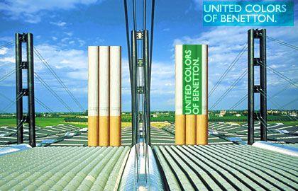 Übernahme eines Tabakkonzerns: Wirbt Benetton bald auch in provokanter Manier für Zigaretten?