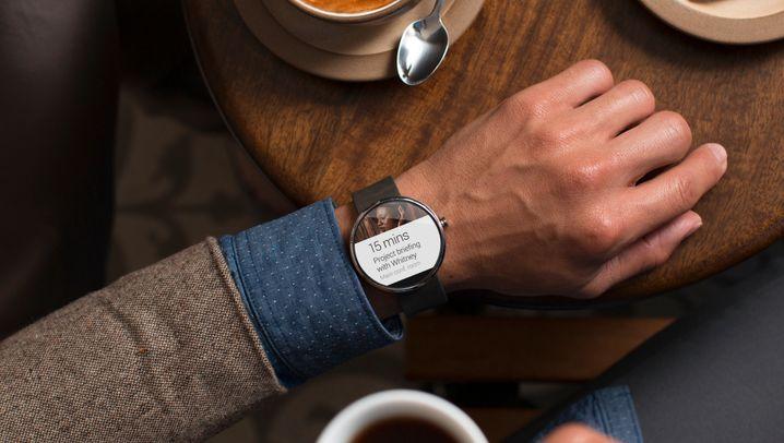 Runde Sache: Die neue Android-Smartwatch Moto360