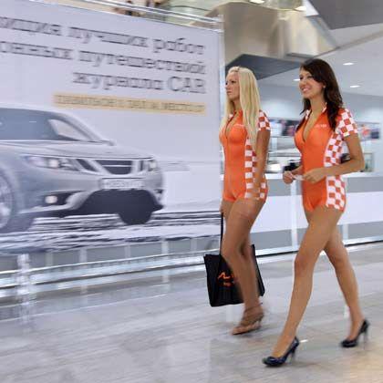 Automesse in Moskau: 2008 boomte der Markt noch und war auf dem Weg, zum größten Markt in Europa aufzusteigen. Dann kam der Einbruch.