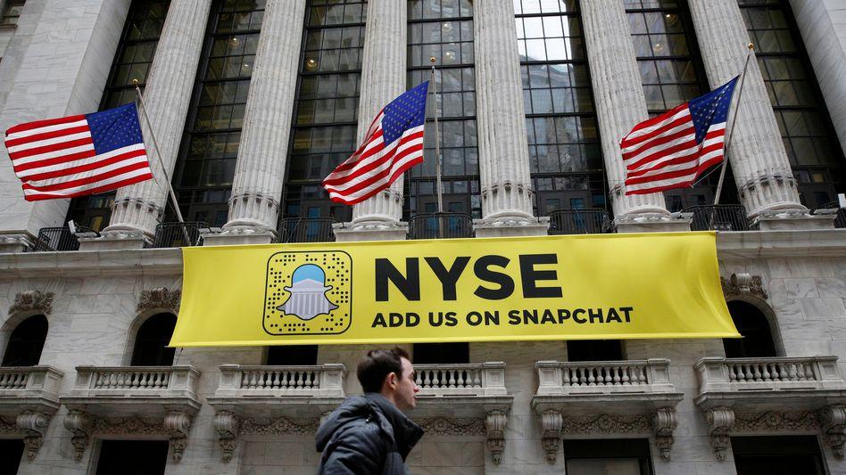 Noch keine Erfolgsstory: Der Börsengang von Snap