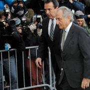 Im Fokus: Madoffs letzter öffentlicher Auftritt Mitte März vor dem New Yorker Gericht