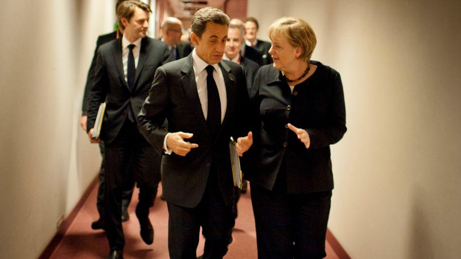 """Merkel, Sarkozy: """"Glaubwürdige und konkrete Reformschritte nötig"""""""
