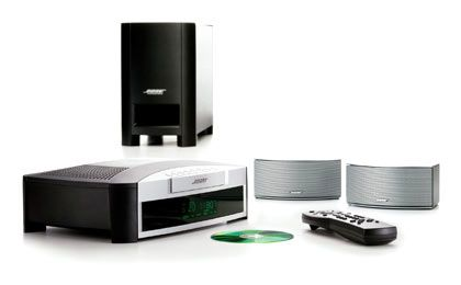 Surround-Feeling mit drei Lautsprechern: Das 3-2-1-System von Bose