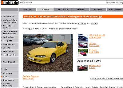 Neuer Channel von Ebay: Mobile.de