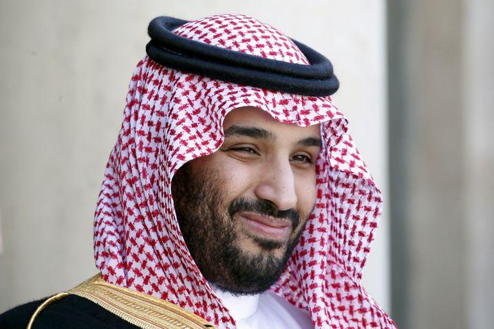 Mohammed bin Salman mit typischem Siegerlächeln