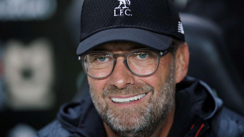 """""""Ich bin jetzt 52, ich denke nicht daran, aufzuhören"""": Jürgen Klopp ist seit 2015 Trainer des FC Liverpool"""