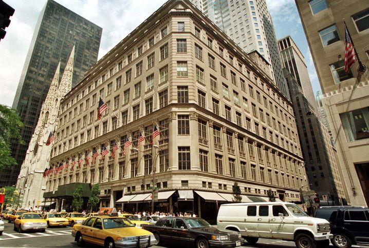 Saks Fifth Avenue: Das weltbekannte Nobelkaufhaus ist die perle in Bakers Portfolio