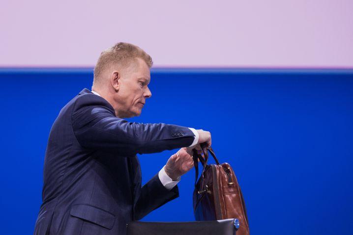 Geht mit Millionen im Gepäck: Guido Kerkhoff.