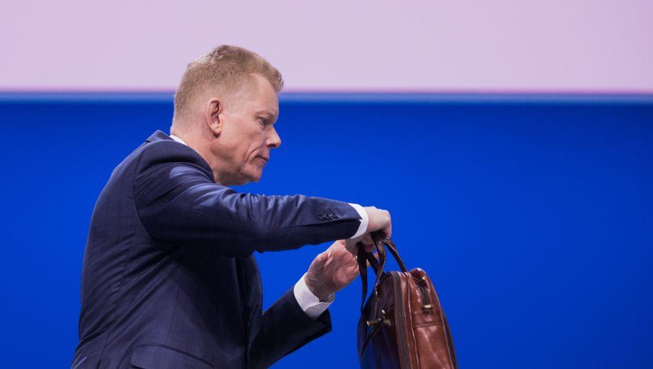 Auf rund 6 Millionen Euro soll sich die Abfindung für Guido Kerkhoff belaufen