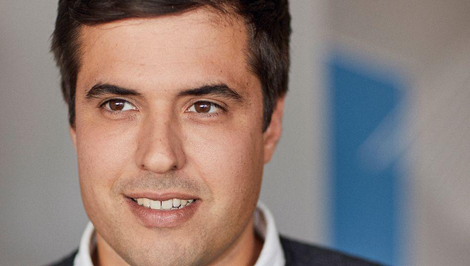 Finleap-CEO Ramin Niroumand: Mit Finleap Forward will das Unternehmen anderen Firmen bei der digitalen Transformation helfen