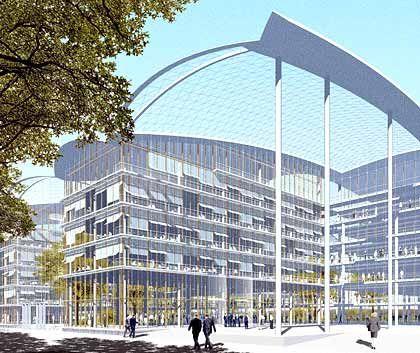 Investition in die Zukunft: Die Kosten für das Neubauprojekt der Deutschen Lufthansa liegen bei rund 200 Millionen Euro.