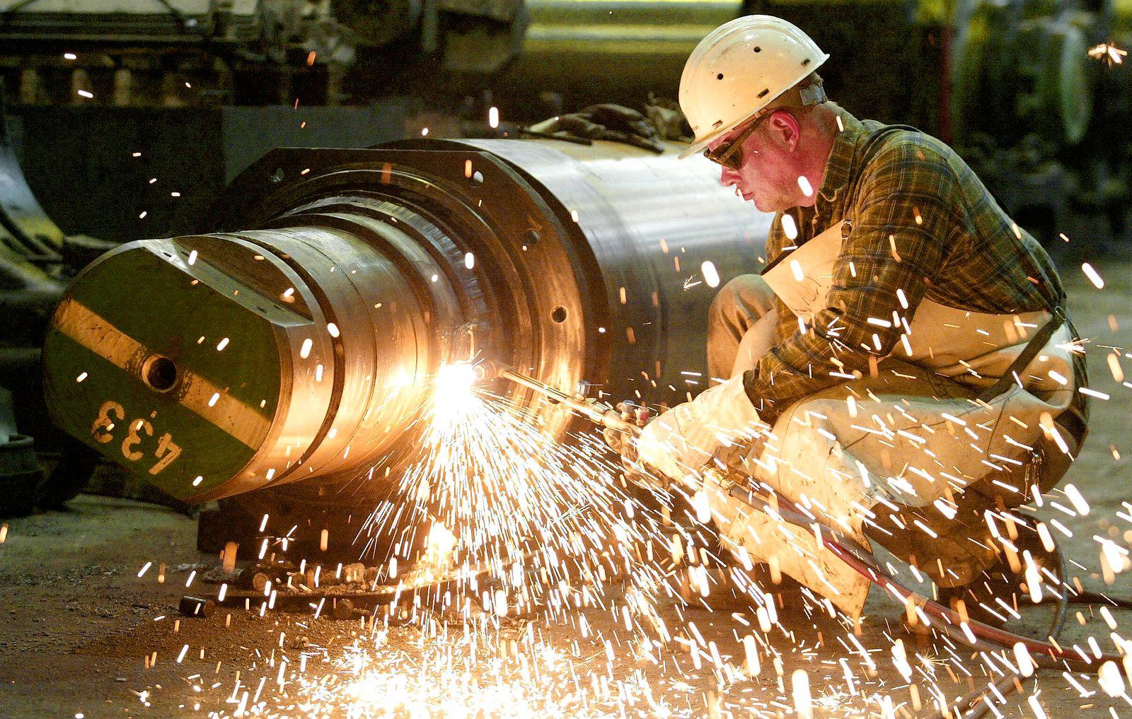 NICHT VERWENDEN Konjunktur / Maschinenbau