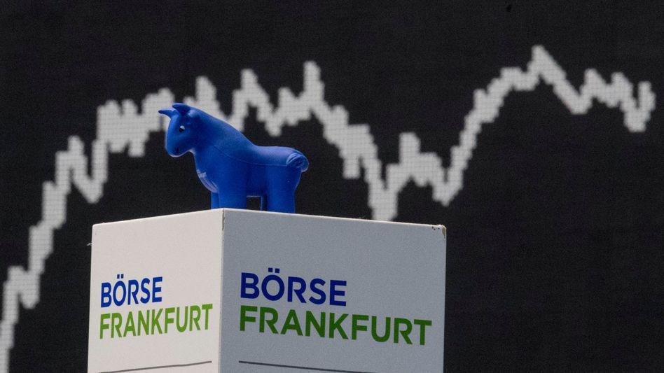 Dax nahe Rekordhoch: An der Börse geben derzeit die Bullen die Richtung vor