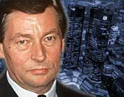Nach dem Tod von Alfred Herrhausen: Alles in der Deutschen Bank hat sich verändert, sogar die Sprache.