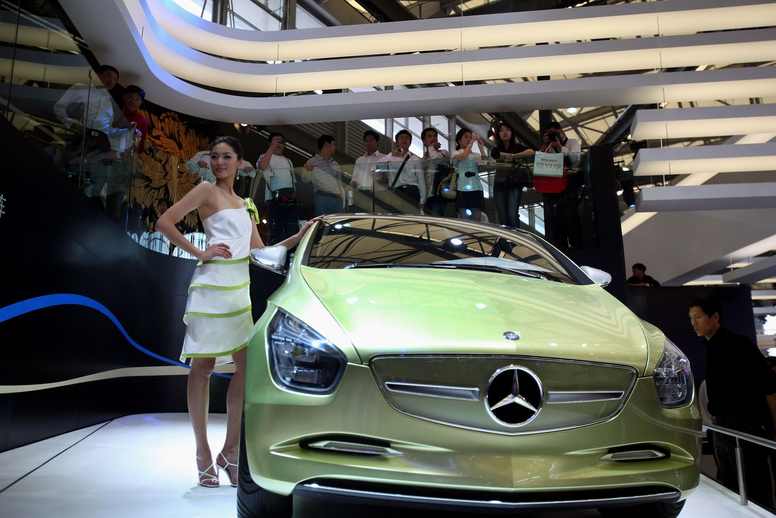 Mercedes benz Concept Blue ZERO E-CELL / China / Model