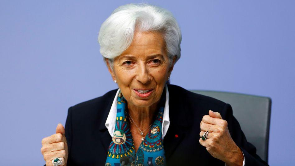 EZB Chefin Christine Lagarde: Krise wie 2008 droht