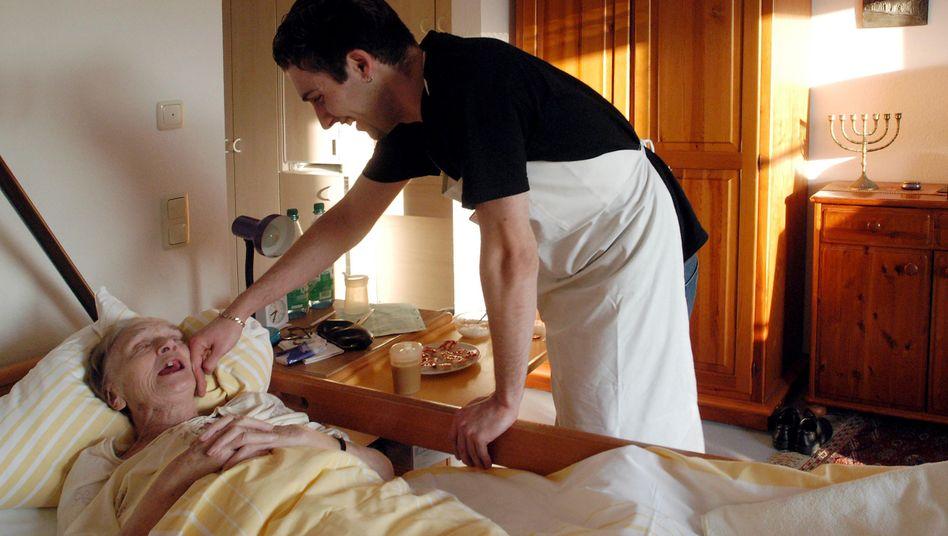 Altenpflege: Beruf mit vielen unbesetzten Arbeitsplätzen