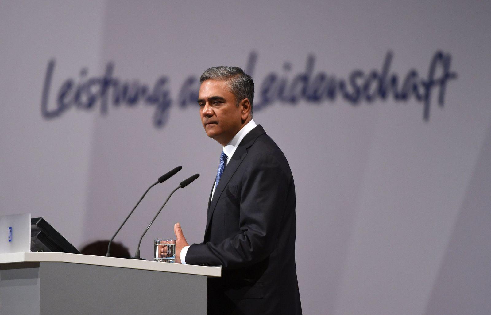 Anshu Jain/ Hauptversammlung Deutsche Bank