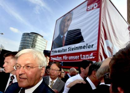 Spürt Rückenwind: SPD-Kanzlerkandidat Steinmeier