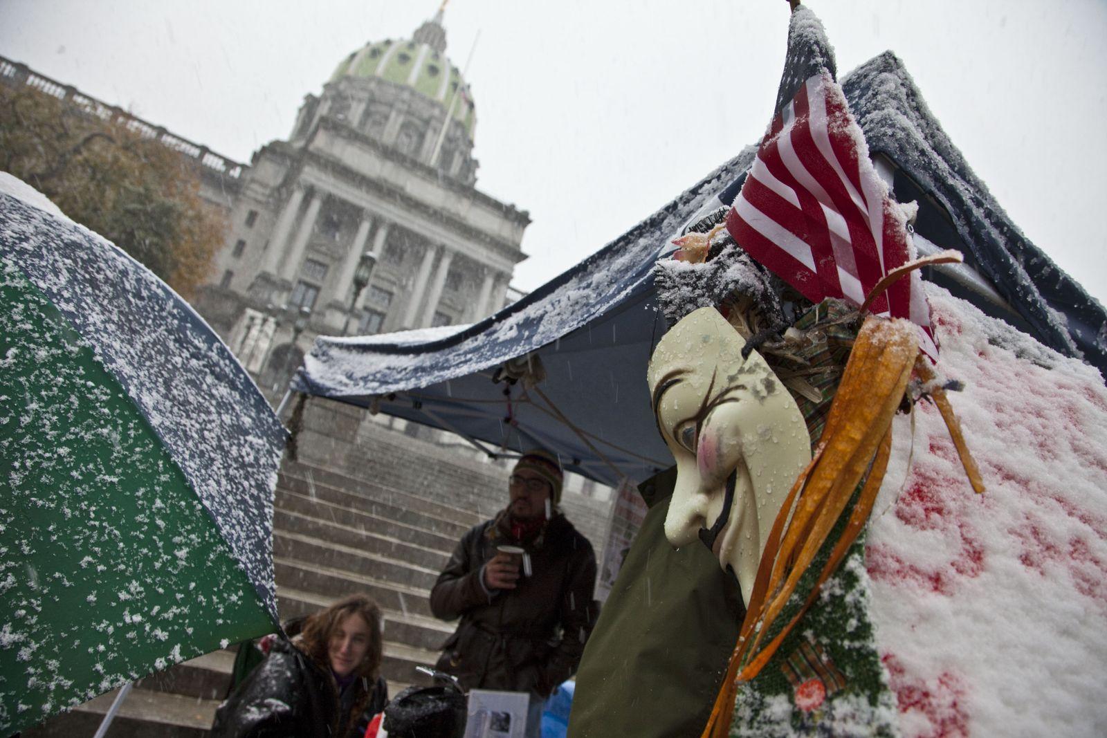 NICHT MEHR VERWENDEN! - Occupy Wall Street / Harrisburg / Pennsylvania