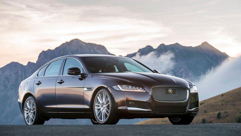 Autogramm Jaguar XF: Hier muss sich niemand verstecken